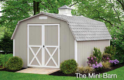 vinyl shed in beige 6'x8x